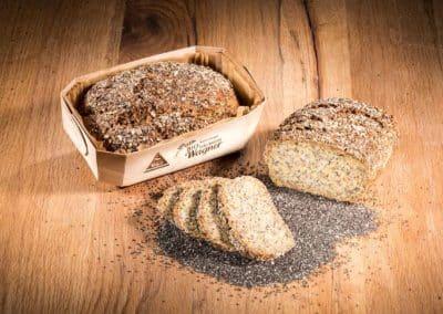 Chia-Abendbrot (Low Carb Brot)
