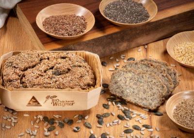 Kerndlbrot (glutenarm, ohne Mehl)
